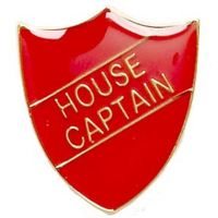 ShieldBadge House Captain Red</br>SB015R